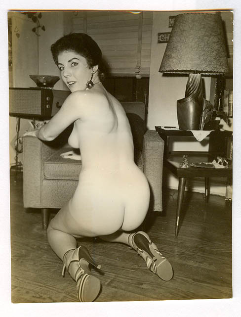 Supposedly a pic of Obama's Mom, Ann Duncan, nude.